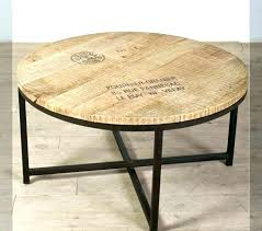 circle coffee table interior decor