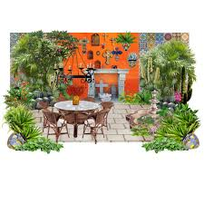 Small Picture Mexican Inspired Garden Courtyard Polyvore