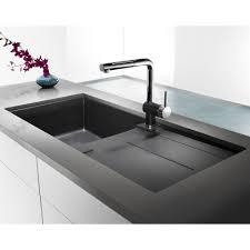 Blanco Sop1 Metra X Silgranit Single Bowl Sink With Drainboard