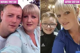 Size 22 mum's incredible <b>SEVEN STONE</b> weight loss in a year after ...