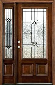 entry door with one sidelight front fiberglass