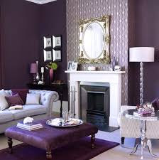 Purple Decorating Living Rooms Bedroom Interior Winter Living Room Decor Warmlivingroom Winter