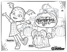 Free Printable Vampirina Coloring Pages Vampirina