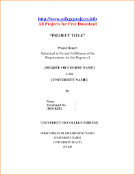 Project Front Page Sample 013 School Term Paper Cover Page Research Mla Template Front