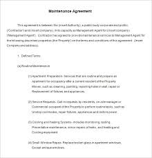 annual maintenance contract format for machine sample amc contract magdalene project org