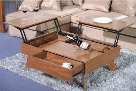 coffee table that lifts up to eat for living room ideas
