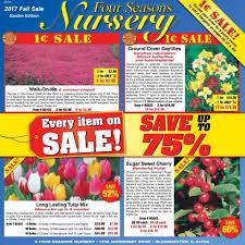 four seasons nursery s free seed catalog