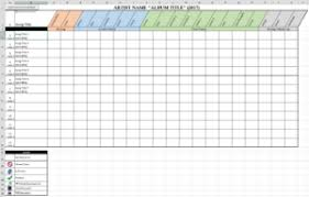 Track Progress In Excel Recording Progress Chart Falcon Awesome Music