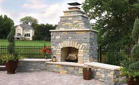 Outdoor Stone Fireplace Kits | Crafts Home