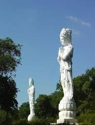 buddha eden garden durante a fase de