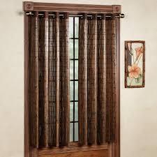 door panel and bamboo grommet window panels panel 42 x 63
