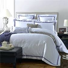 funky bedding luxury hotel cotton solid color bedding set soft silky duvet cover set bed linen