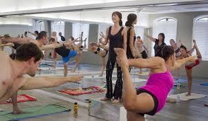 hot workout kate burford takes a bikram yoga cl