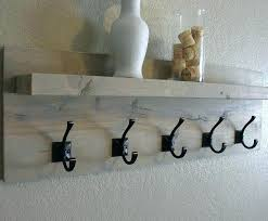 Floating Shelf Coat Rack Custom Wall Mounted Coat Rack With Hooks And Shelf Coat Hooks With Shelf