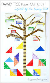 The Keeping Quilt: Family Tree Craft for Kids - Buggy and Buddy & Family Tree Craft for Kids (Inspired by The Keeping Quilt by Patricia  Polacco)~ Adamdwight.com