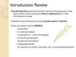 important essay writing elements introduction review the  2 introduction