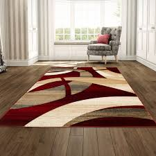 red and tan area rug ideas with brown rugs prepare 9