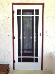 storm door replacement screen frame storm door with retractable screen tempered glass insert for storm door