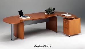 round office desks. Mayline Napoli Modern Home Office Desk Mobile File Inside Curved Designs 4 Round Desks