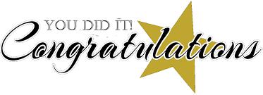Image result for congratulations clip art
