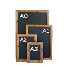 wall mounted chalk boards attractive thick frame