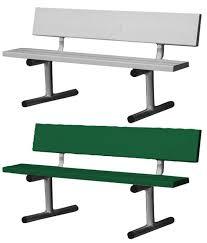 aluminum tennis court bench tennis court chairs