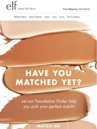 Elf Cosmetics Try The New Foundation Finder Milled