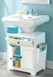 pedestal sink shelf under pedestal sink shelf
