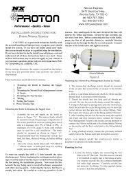 Proton Nitrous Systems Manualzz Com