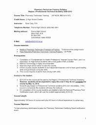 Example Of Pharmacy Technician Resume Best of Resume Sample For Pharmacy Technician Beautiful Pharmacy Technician