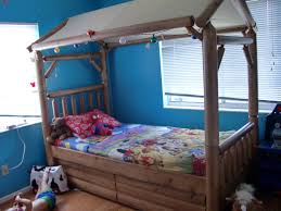 american signature bedroom sets plus canopy and window with blue wall paint