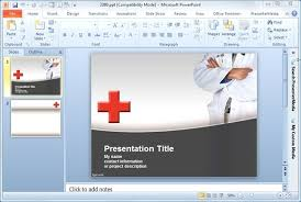 Microsoft Powerpoint Templates 2007 Free Download Medical Powerpoint Ppt Templates Free Premium Healthcare Of How To