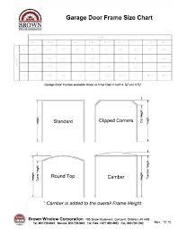 Door Header Span Chart Garage Door Header Detail Projectmealprep Com