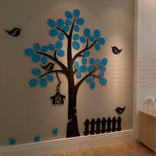 2mm acrylic tree shape wall design