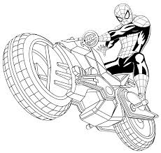 Disegni Da Colorare Su Spider Man Fredrotgans
