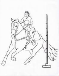 Small Picture Bucking bronco coloring page Pony Camp Craft Ideas Pinterest