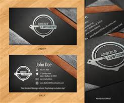 barbershop business cards barber business card design galleries for inspiration