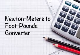 Torque Conversion Chart Nm To Ft Lbs Newton Meters To Foot Pounds Nm To Ft Lb Converter