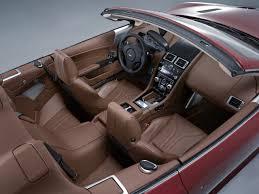 aston martin interior. aston martin dbs volante interior