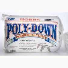 Batting Hobbs PolyDown 45 From Hobbs Bonded Fibers - Batting and ... & Batting Hobbs PolyDown 45 Adamdwight.com