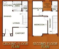 Stunning Duplex Row House Floor Plans Images House Designs