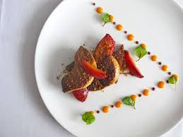 fine dining food restaurant menu. montreal best french restaurant la chronique © will travel for food fine dining menu 2