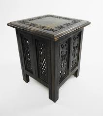 Indian Coffee Table Details About Beautiful Antique Effect Hand Carved Indian Wooden