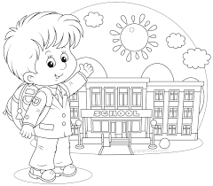 back to school coloring pages for first grade new of