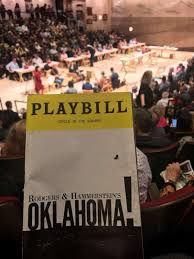 Oklahoma Broadway Seating Chart Circle In The Square Theatre Section Orchestra 100 Even