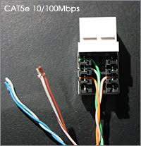 how to wire an ethernet and phone jack using a single cat5e cable cat5e jpg