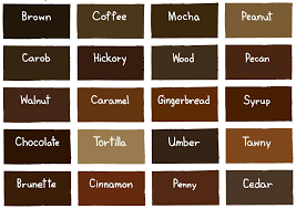 Well Hair Color Chart Our Favourite 12 Brown Hair Color Shades For Indian Skin Tones