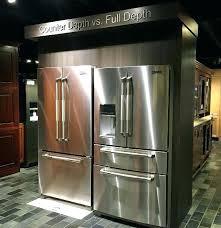 counter depth 30 inch fridge counter depth 30 inch wide refrigerator canada