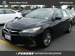 2016 Used Toyota Camry SE at Kearny Mesa Toyota Serving Kearny ...