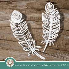 feather template laser cut feather template online store for laser cut patterns